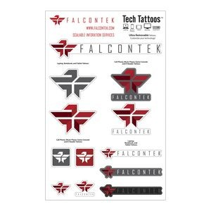 Tech Tattoos Decal / Custom Shapes (7