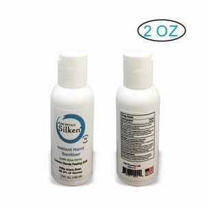 2oz Antibacterial Hand Sanitizer Gel 70% Alcohol (Blank )